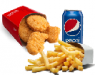 kids chicken nuggets meal